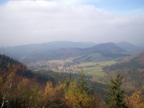 Widok na Sokołowsko.