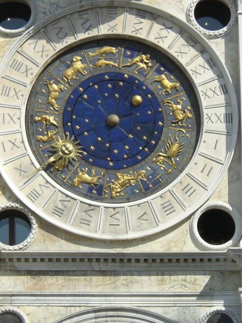 Plac Św. Marka w Wenecji - zegar