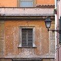 okno #rzym #roma #włochy #italia #latarnia #okno #ściana