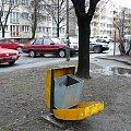 Okolice Szczepina w najlepszym świetle ;) #szczepin #wrocław #droga #osiedle #śmietnik #śmieci #kosz