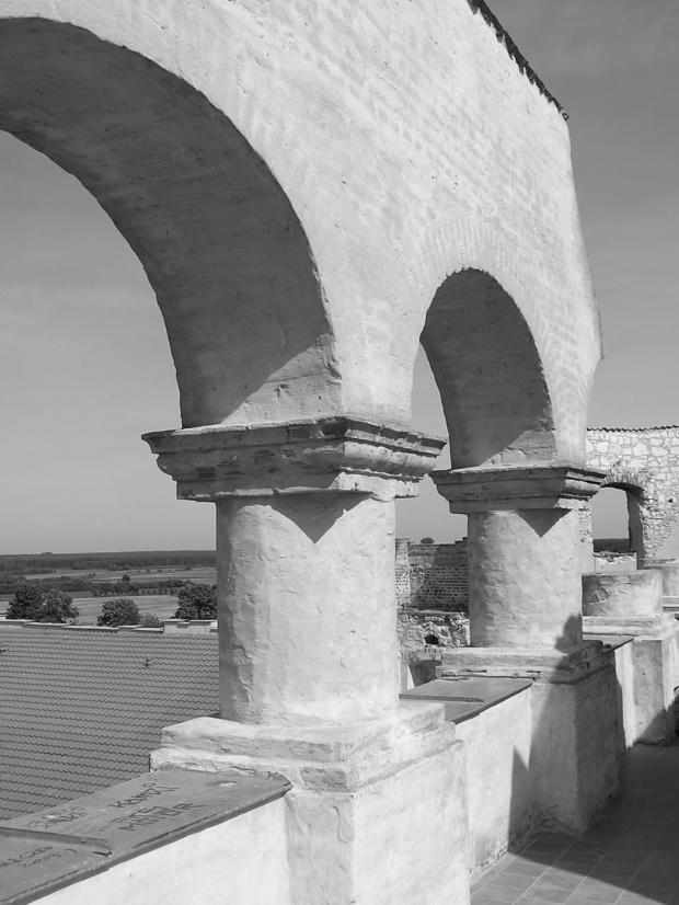 Ruiny zamku w Janowcu #ruiny #zamek #Janowiec #zamczysko #arkady #filar #filary