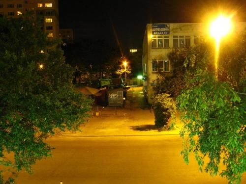 Dąbrowa nocą #Dąbrowa