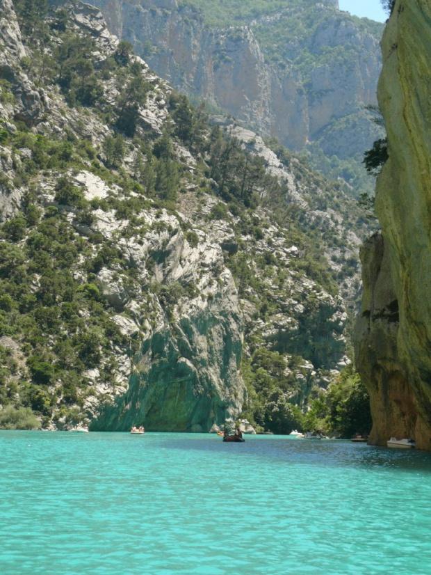 Można zrobić wycieczkę drogą wodną :) #CanionDuVerdon