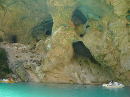 Widoki z wody były niesamowite #CanionDuVerdon