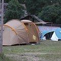 Pole namiotowe #Tama #woda #biwak #kajaki