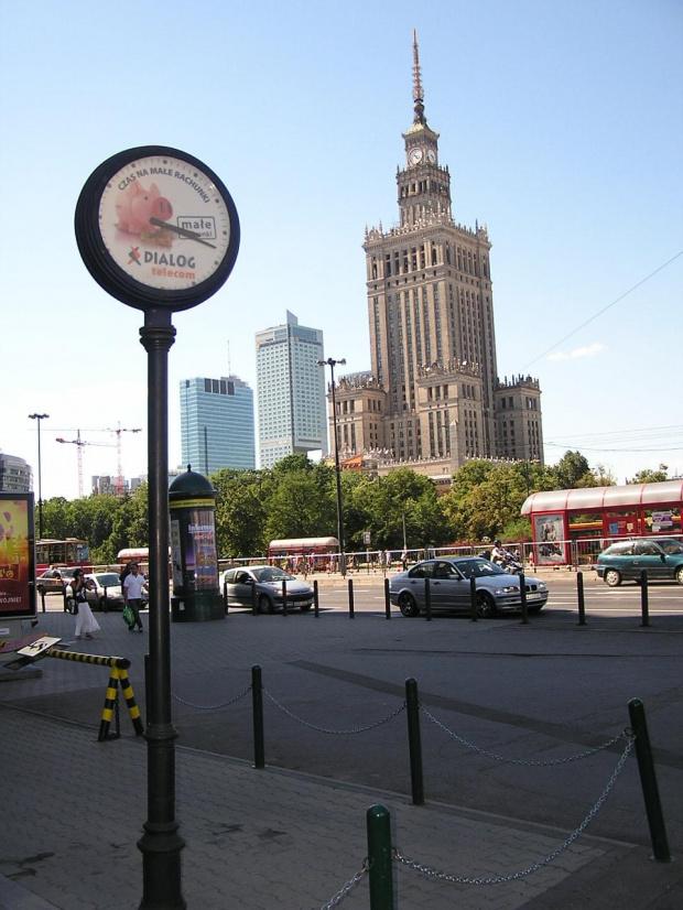 Dialog z PRL-em - Pałac Kultury i Nauki #budowla #Warszawa #centrum