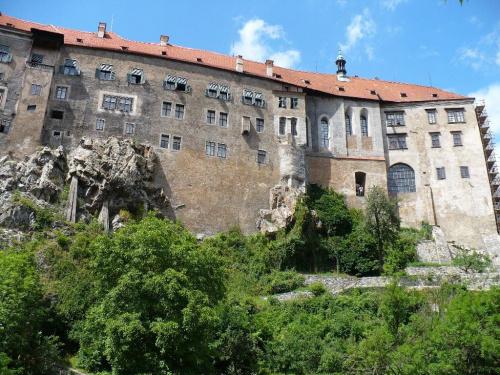 Czeski Krumlow #zamek #widok #zabytek