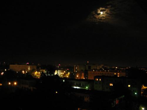 Widok z okna chwilę po burzy #Kielce #GóryŚwiętokrzyskie