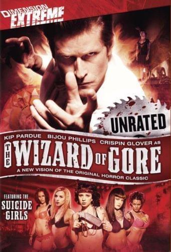 Czarodziej Gore / The Wizard of Gore (2007) [Lektor PL] [DVDRip]
