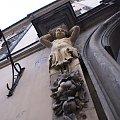 Kraków #architektura #budynek #rzeżba