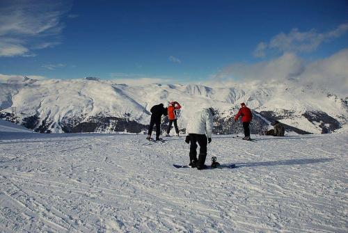 Mottolino - Livigno - Alpy #livigno #Alpy #Włochy