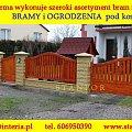 ... #bramy #wjadowe #ogrodzenia #zakład #stolarski #płoty #przesło #ZDrewna #stanpor