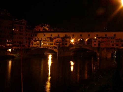 Ponte Vecchio nocą #Florencja #Włochy #Toskania