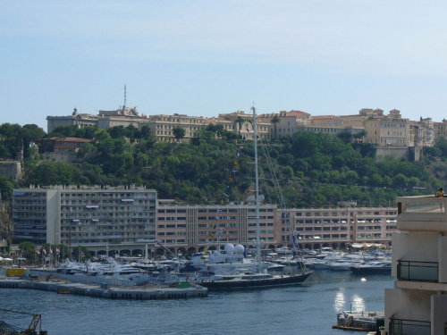 Kotwiczą tu oczywiście wspaniałe jachty #MonacoIMonteCarlo