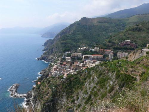 Cinque Terre - widok na Romazzino #Liguria #Włochy #Wybrzeże