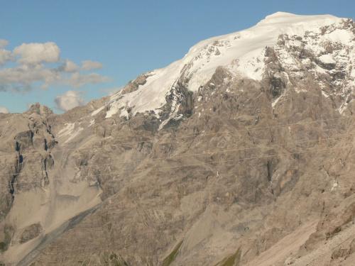Passo dello Stelvio - nawet latem można tu jeżdżić na nartach #PassoDelloStelvio