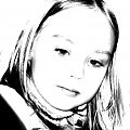 matylda #matylda #dziecko #portret #kontrast