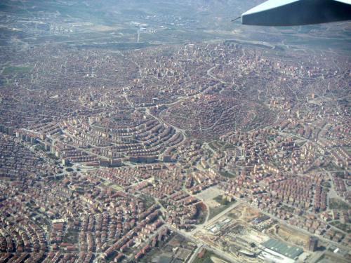 Ankara_widok z samolotu